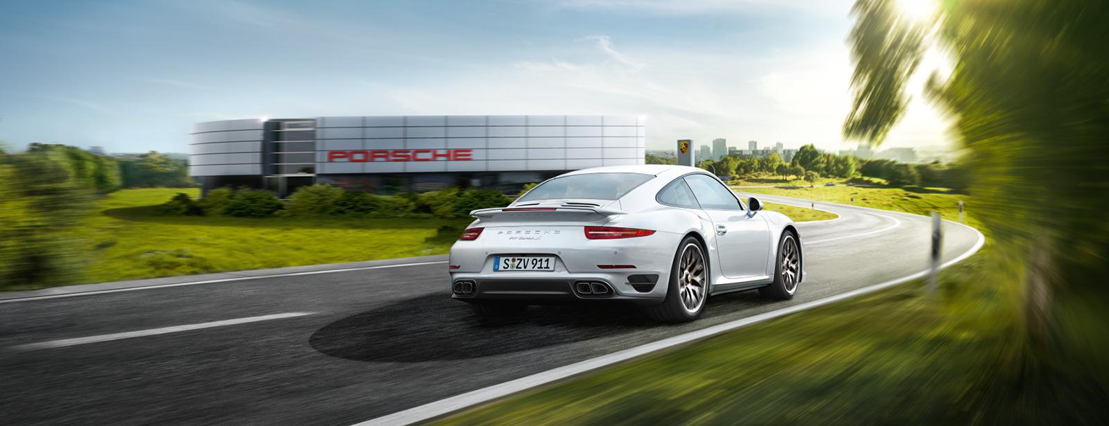 Porsche Modelle: Kraftstoffverbrauch (in l/100 km): kombiniert 12,4–6,1; CO<sub>2</sub>-Emissionen: 289–159 g/km